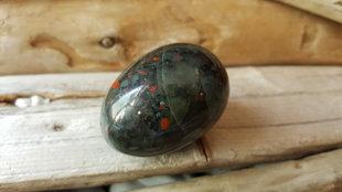 Svaru prāta akmens - Heliotropa ola, Extra. Izmērs 4.5 x 3 cm