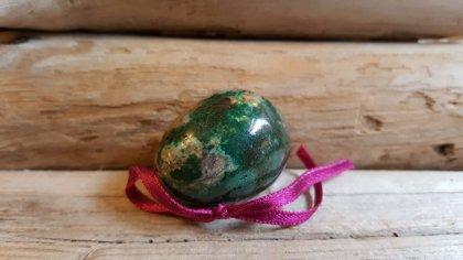 """Hrizokolas virpināmā ola nr 3. """"Mierinājums"""". Izmērs 4 x 3 cm"""